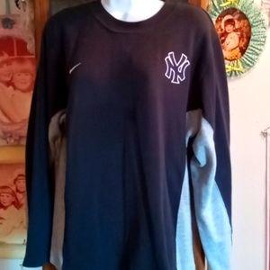 Nike NY YANKEES Sweater/ Tunic(Ladies L/Boys XL)